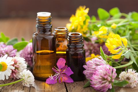 Herbal Medicine in the form of Essential Oils